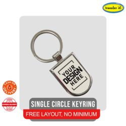 Single Circle KEYRING Thumbnail