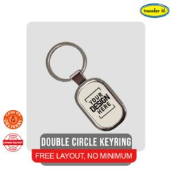 Double Circle KEYRING Thumbnail